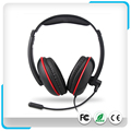 Wholesale Stereo Headset With Tangle-resistant Flat Cable For PS4