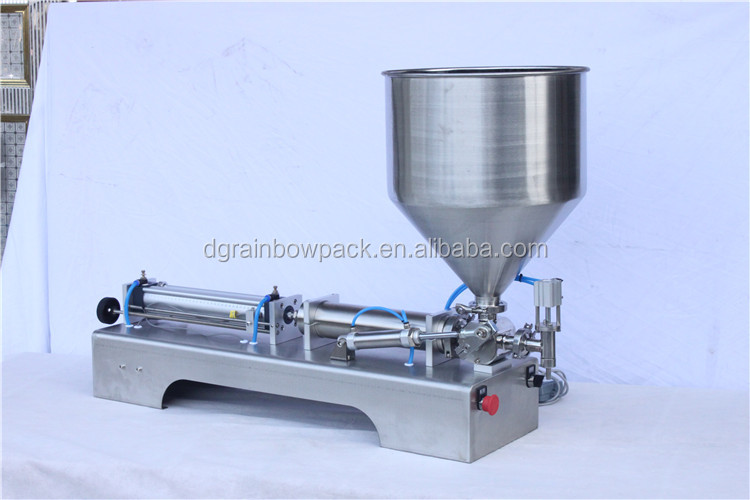 Factory price tabletop semi automatic liquid filling machine