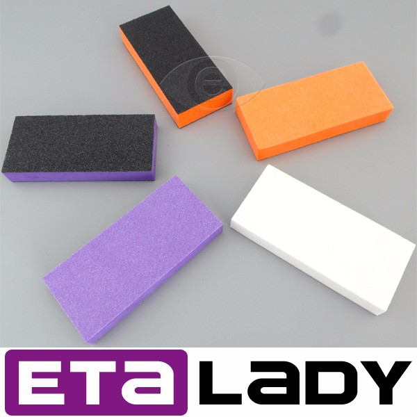 Various style salon nail file and buffer