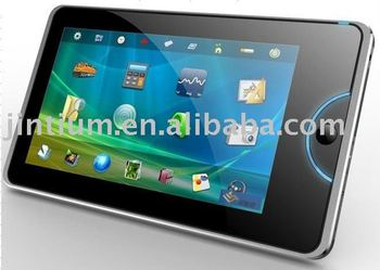 "7"" MID/Tablet PC With Capacitive Screen and 3G"