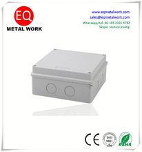No wiring connect flood light electrical mounting box