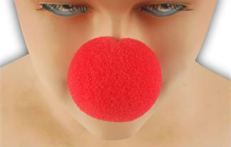 Clown nose for events and parties Carnival and Halloween