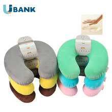 Personalized Travel Neck Pillow Filled With 100% Polyurethane Memory Foam Material