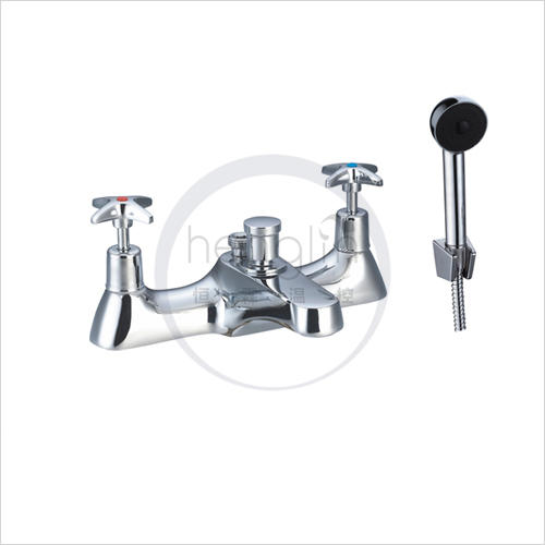 brass body zinc lever traditional bath shower mixer tap
