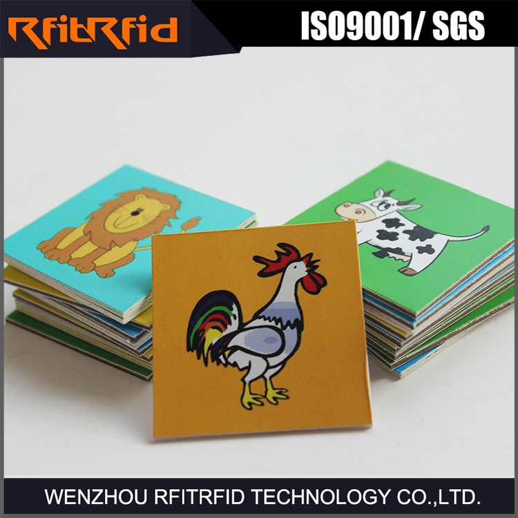 13.56 mhz iso 15693 pragrammable reusable rfid tag metro paper card/ticket