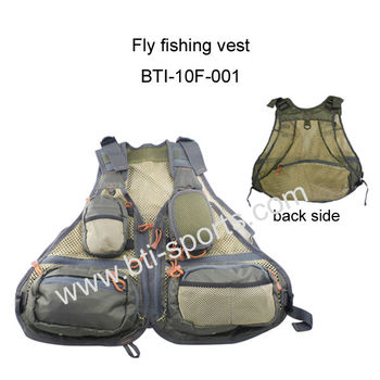 High quality fly fishing vest