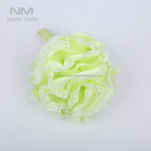Nami Wholesale Cheap Price Bath Accessory Mesh Shower Ball Sponge Bath puff Exfoliating Mesh Rope Sponge
