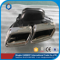 High Quality AMG W212 E63 EXHAUSE PIPE MUFFLER for BENZ