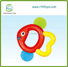 Infant plastic baby rattles plastic ring rattle wholesale baby rattle
