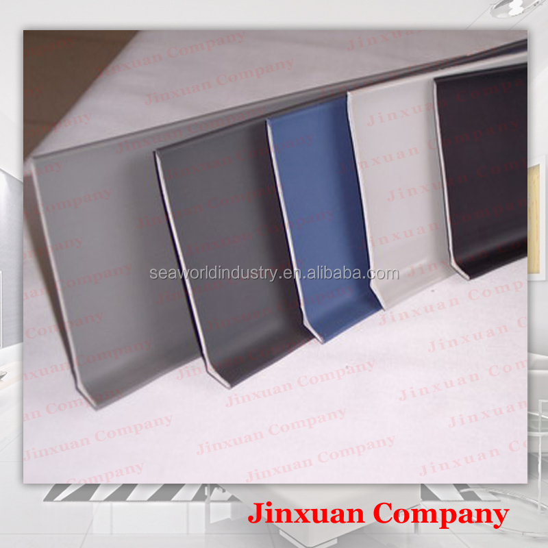 100mm soft pvc rubber baseboard