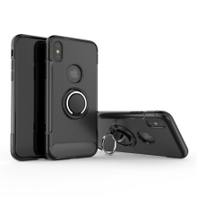 360 Degree Rotating Ring Grip Case for iphone X case tpu pc With kickstand