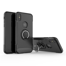 360 Degree Rotating Ring Grip Case for iphone X case With kickstand