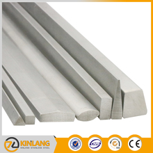 satin/bright stainless steel tension square bars