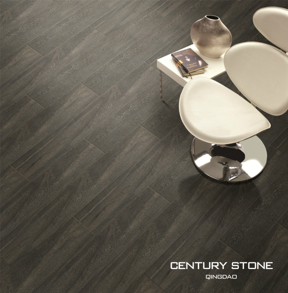 200X1200mm Dark High Quality New Size Wood Look Ceramic Floor Tile