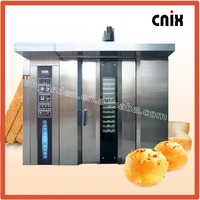 64 Trays Gas Bread Baking Oven,Rotary Bakery Oven