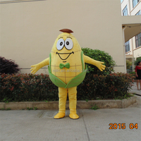 Game playing customized banana mascot costume