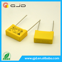 "Weidy ""special offer"" 2.2 uF310Vac Yellow square shell capacitance X1 Film capacitor"