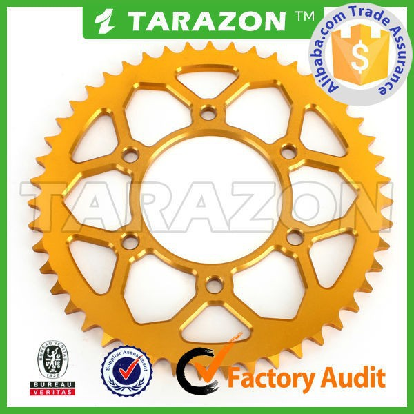 Chinese Alibaba Audited Factory Motorcycle Chain Sprocket for Suzuki