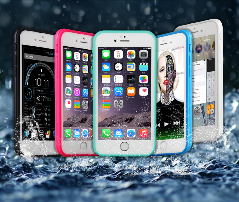 Wholesale bulk phone cases waterproof case for iphone 6