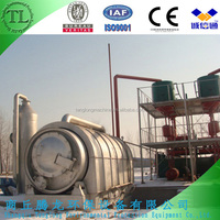 Newest design waste tyre pyrolysis plant ,waste tyre to oil machine