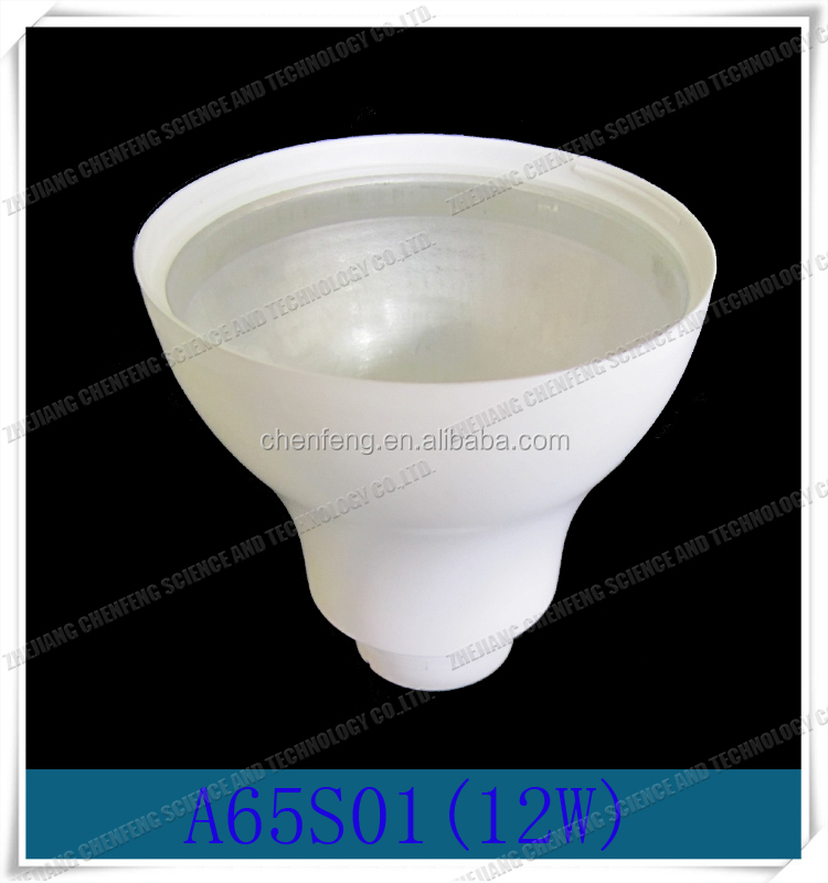 New type A65S01(12W) heating cup led light bulbs Plastic Aluminum
