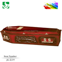 last supper carving wood funeral furniture coffin