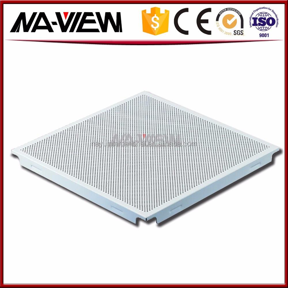 Good Price Fireproof Decorative Panel Aluminum Baffle Ceiling Tile