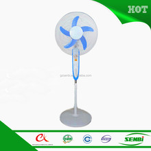 12 volt electric energy efficient Ghana USB rechargeable stand fan 16''