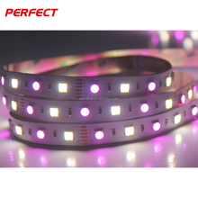 Flexible LED Tape Ribbon Light 5050 RGB+CCT led strip battery powered tape led light