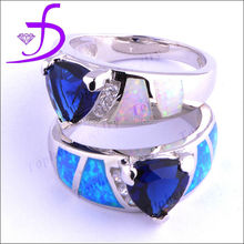 New arrivel fashion 925 silver jewelry silver handmade opal ring