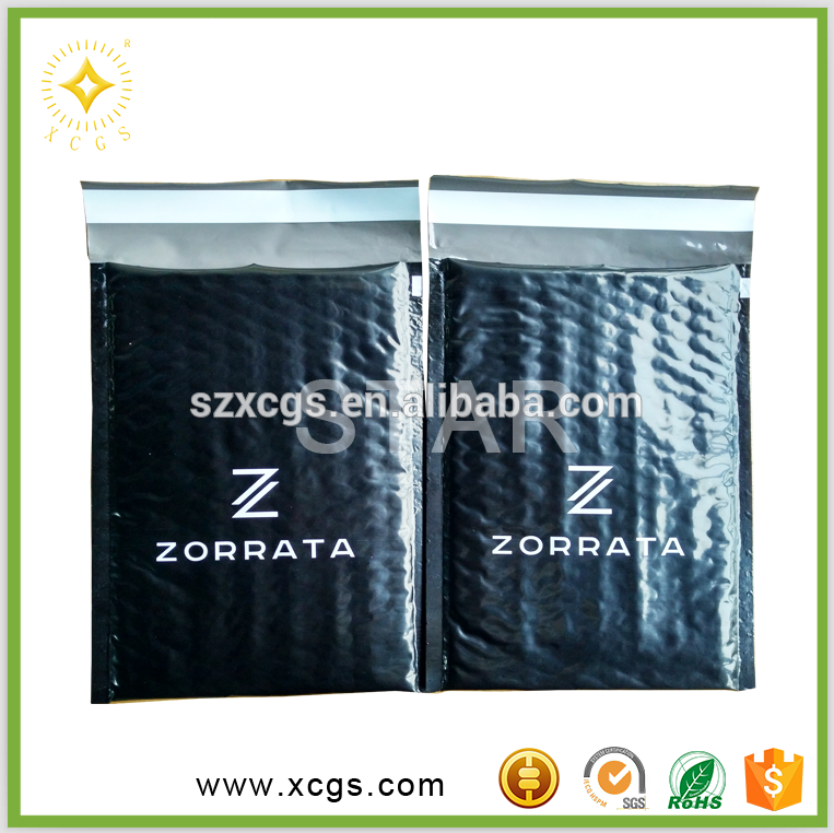 Customized Printed Poly Mailer/Colored Padded Bubble Envelopes/Printed Mailing Bag