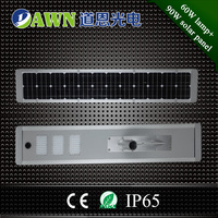 60W intelligent 2017 new product integrated all in one solar led street light lamp solar street led 24v 7000 lm