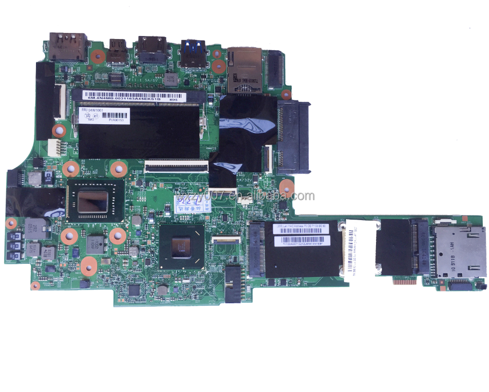 For lenovo X1 Laptop Motherboard Mainboard FRU:04W1661 48.4N404.011 QM67 With i5-2520M CPU DDR3 100% tested