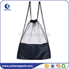 Promotional mesh gym bag with drawstring