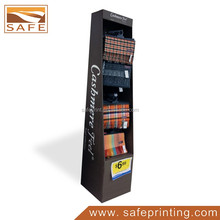 fashion shawl display stand retail cardboard hook display