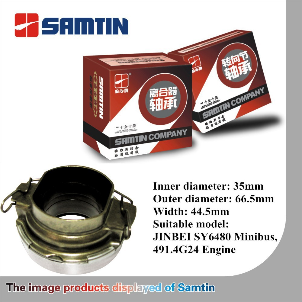 Samtin Clutch Release Wearing Resistance Type Bearing model 50RCT3534F0 for Jinbei SY6480
