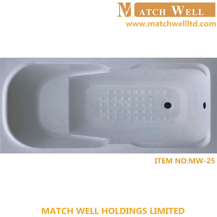 hotel simple hinoki wood bathtub for bathroom