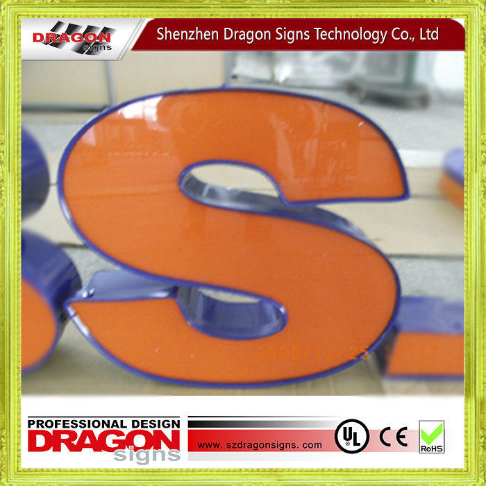 China Supplier logo sign stand