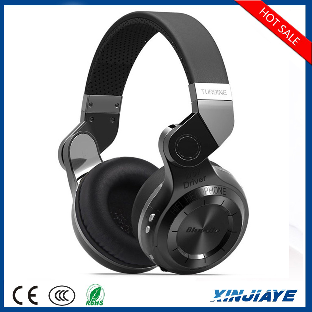 Original Bluedio T2 57mm Powerful Bass Stereo Bluetooth V4.1 Wireless Headphone Bulit-in Microphone Noise Isolating Headse