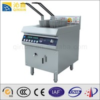 satinless steel industrial induction used deep fryer for fried chicken