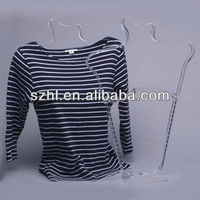 High quality acrylic display stand for t shirts