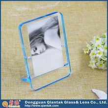 Clear Wall Mounted Acrylic Poster Frame Double Layers Acrylic Photo Frame