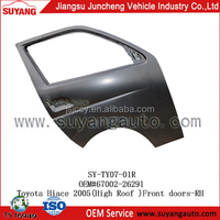 High Quality Steel Front Door RH(High Roof) For Japanese Used Toyota Hiace Diesel Van
