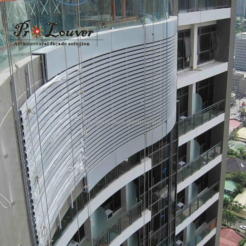exterior decorative building facades,aluminum sun louver - buy