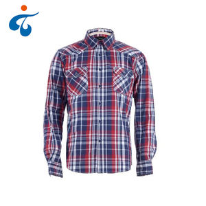 Top quality wholesale fashion designer 100% cotton casual man clothes