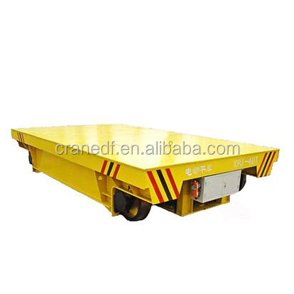 Quality rail electric flat carriage transfer cart manufacture