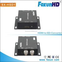 Foxun HDMI Converter HDMI to SDI with 2 SDI output distance upto 100m HDMI TO SDI Converter