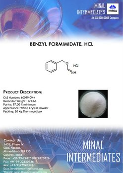 Benzyl Formimidate Hcl