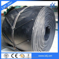 Made In China ISO Certified Polyester/Cotton Canvas Core V Type/U shape Ramp Conveyor Belt Price