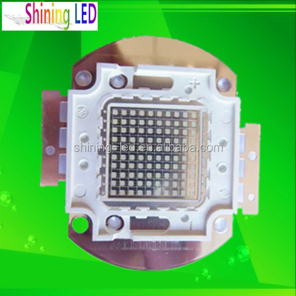 Ultraviolet Diode Taiwan Epileds Integrated High Power 365nm 370nm 50W UV COB LED Chip for Drying, Curing, Printing